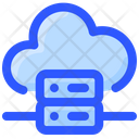 Internet Technology Cloud Server Cloud Database Icon