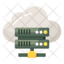 Cloud Database Cloud Sharing Dataserver Network Icon