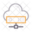 Cloud Server Network Icon