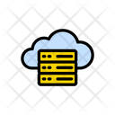 Cloud Storage Hosting Icon