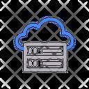 Server Database Cloud Icon