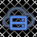 Data Cloud Storage Icon