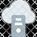 M Cloud Server Cloud Server Cloud Database Icon