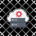 Server Cloud Database Icon