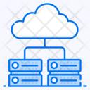 Cloud Server Cloud Hosting Cloud Storage Icon