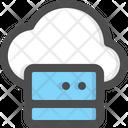 Server Cloud Network Icon