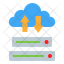 Cloud Server Network Storage Icon