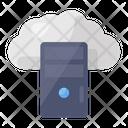 Cloud Server Cloud Hosting Cloud Computing Icon