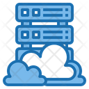 Storage Cloud System Online Icon