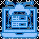 Cloud Server Cloud Cloudserver Icon