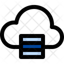 Global Informations Cloud Database Coud Computing Icon