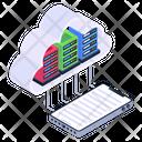 Internet Storage Cloud Server Cloud Storage Icon