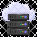 Cloud Storage Cloud Server Cloud Datacenter Icon