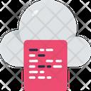 Cloud Computing Cloud Cloud Computation Icon
