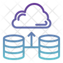 Cloud Server Cloud Database Cloud Icon