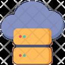 Cloud Server Cloud Database Cloud Storage Icon