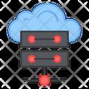 Cloud Server Cloud Db Cloud Database Icon