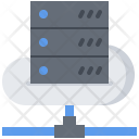 Cloud Server Data Icon