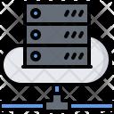 Cloud Server Data Icon