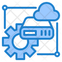 Cloud Server Cofigure Icon
