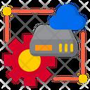 Cloud Server Cofigure Icon