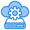 Cloud Server Config Cloud Server Setting Cloud Icon