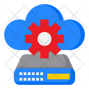 Cloud Server Config Icon