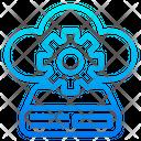 Cloud Server Config Icon