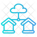 Cloud Server Database Server Icon