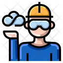 Cloud Server Engineer Icon