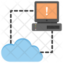 Cloud Error Server Icon