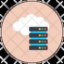 Cloud Server Hosting Cloud Data Rack Cloud Dataserver Icon