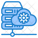 Cloud Server Maintenance Icon