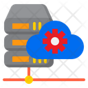 Cloud Server Maintenance Network Config Icon