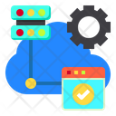 Web Hosting Cloud Icon