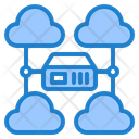 Cloud Server Management Icon