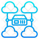 Server Database Cloud Icon