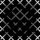 Cloud Server Wire Icon