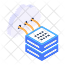 Cloud Server Network Cloud Computing Cloud Storage Icon