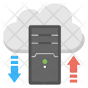 Cloud Server Processing Icon