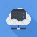 Cloud Server Seo Icon