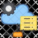 Cloud Server Setting Cloud Server Management Cloud Server Development Icon