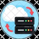 Cloud Sharing Cloud Server Transfer Cloud Server Sharing Icon