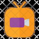 Cloud Service Cloud Seervice Video Icon