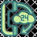 Cloud Service Center Icon