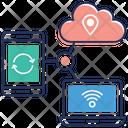 Cloud Computing Cloud Services Cloud Technology Icon