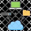 Cloud Services Servers Icon