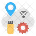 Cloud Services Storage Icon