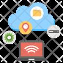 Services Servers Storage Icon