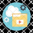 Cloud Services Data Icon